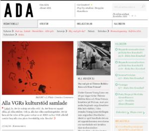 webbplatsen adasweden