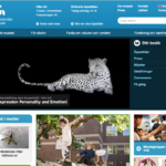 Naturhistoriska riksmuseets webbplats