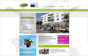 Webbplatsen Företagsamma Västra Hisingen